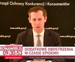 """Koronawirus. Płyny dezynfekujące po 250 zł. """"Uderzenie w zasady współżycia społecznego"""""""