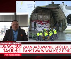 Największy samolot świata w Polsce. Ile kosztował transport i przywieziony sprzęt?
