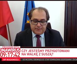 """Susza w Polsce. Minister: """"wody w kranach nie zabraknie"""""""