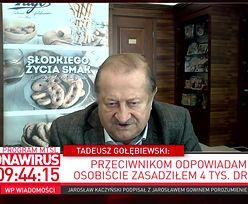 """Koronawirus w Polsce. Gołębiewski: """"obrót niższy o 25 procent"""""""