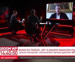 Afera maseczkowa. Wiceminister Cieszyński odpiera zarzuty o kolesiostwo