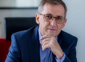 Prezes firmy AB Andrzej Przybyło.