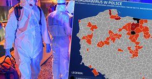 Strefy czarne wróciły do Polski. Infekcji koronawirusa przybywa