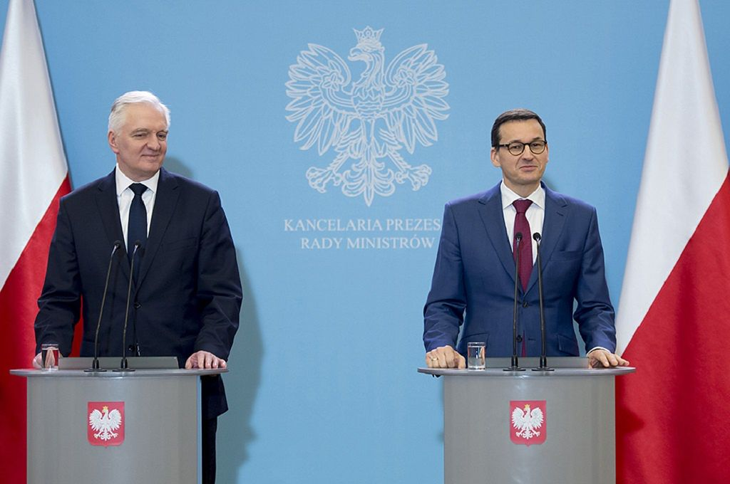 Konferencja premiera Morawieckiego. Szwedzka firma uruchomi produkcję baterii w Polsce - Money.pl
