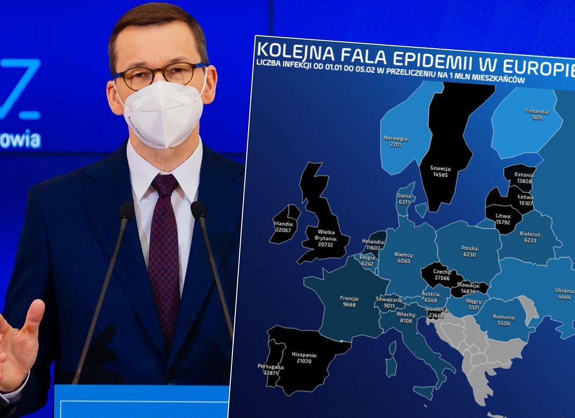 Konferencja premiera potwierdziła: luzowanie obostrzeń faktem. W Europie sytuacja jednak wciąż napięta - Money.pl