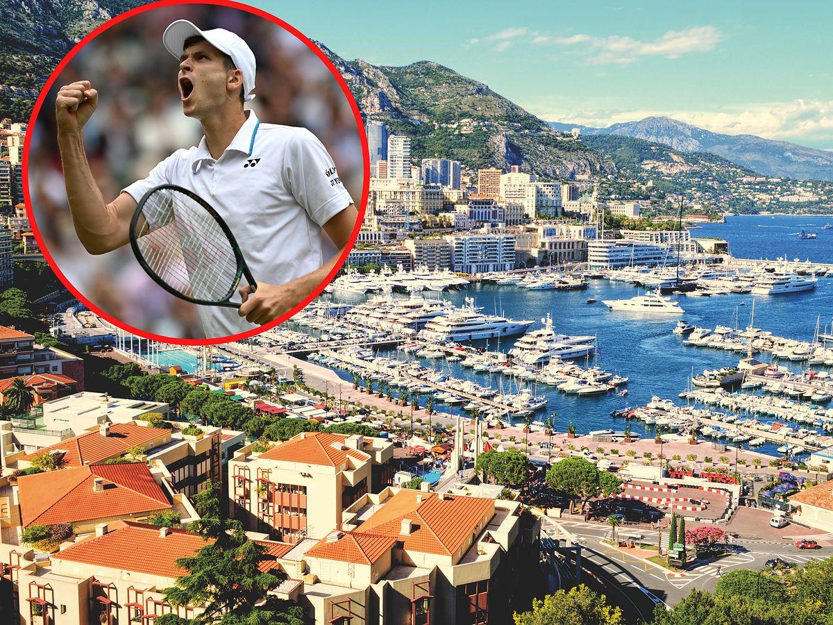 Hubert Hurkacz przenosi się do Monako.