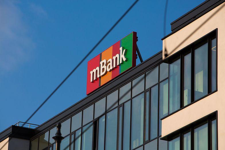 mBank miał 86,98 mln zł zysku netto, 182,9 mld zł aktywów w II kw. 2020 r.