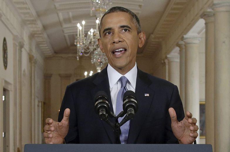 Interwencja w Syrii. Zaskakujące słowa Obamy w orędziu do narodu