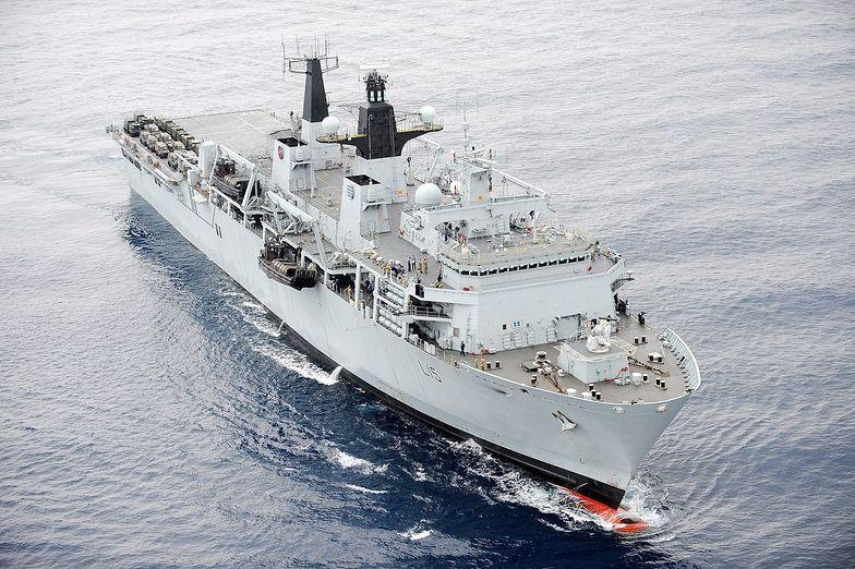 Wojna z Hiszpanią o Gibraltar? Londyn wysłał flotę