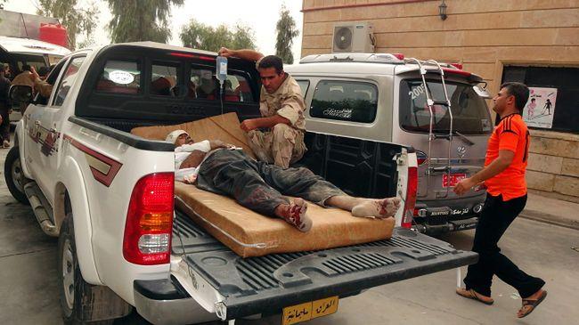 Wojna w Iraku. Krwawa niedziela w Bagdadzie
