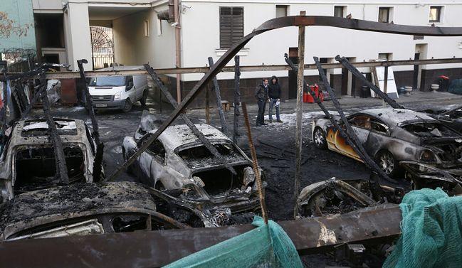 W Moskwie spłonęły samochody za 14 milionów złotych