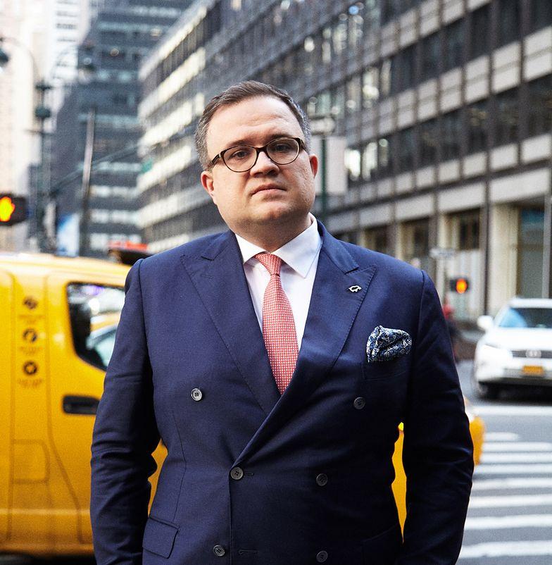 Michał Krupiński, prezes Banku Pekao odpowiada za organizację pierwszego Polskiego Forum Inwestycyjnego w Nowym Jorku