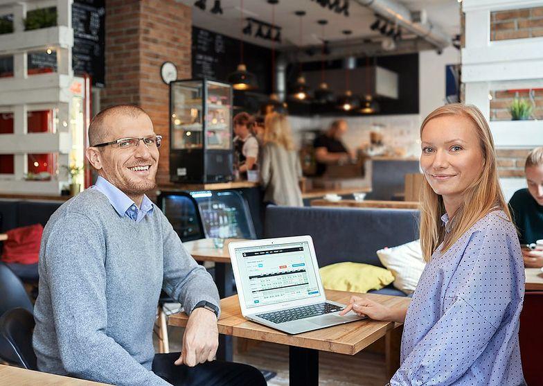 Grzegorz Galos i Karolina Dolaś - twórcy Grafika Optymalnego