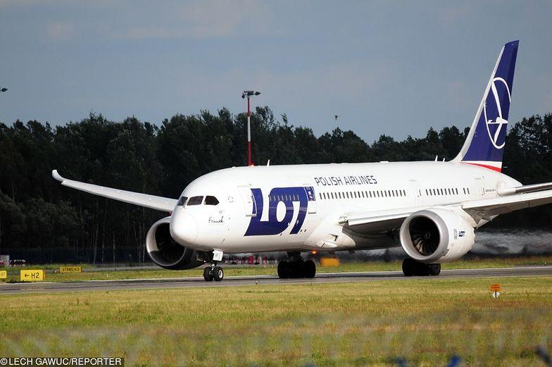 LOT ma w swojej flocie w sumie osiem Boeingów 787.