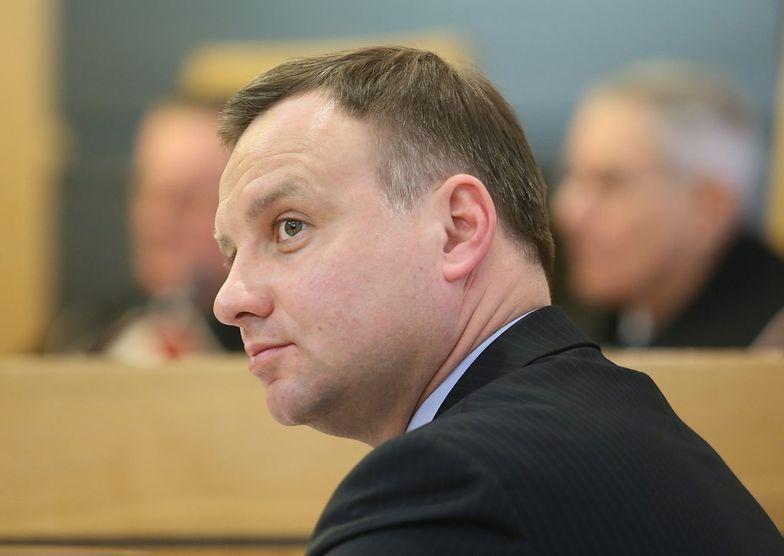 Duda zastąpił Hofmana na stanowisku rzecznika PiS