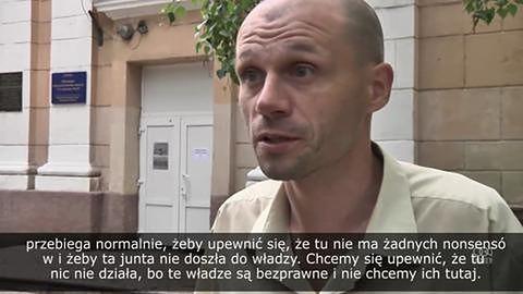 W Doniecku zniszczono urny do głosowania, trwa ostrzał w Słowiańsku