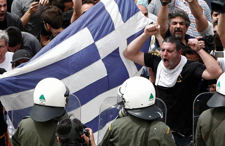 Kryzys w Grecji. Rolnicy Grecji grożą, że sparaliżują kraj