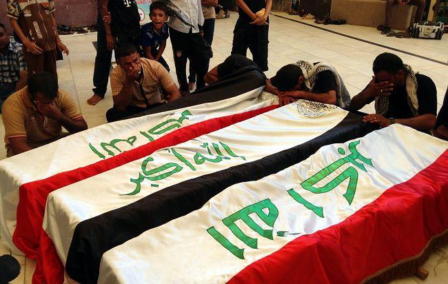Irak: czerwiec najkrwawszym miesiącem. Większość ofiar - cywile