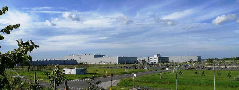 Hyundai Motor Manufacturing Czech w czeskiej strefie przemysłowej Nosovice.
