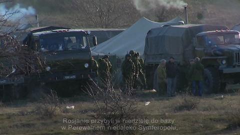 Rosyjscy żołnierze na Ukrainie
