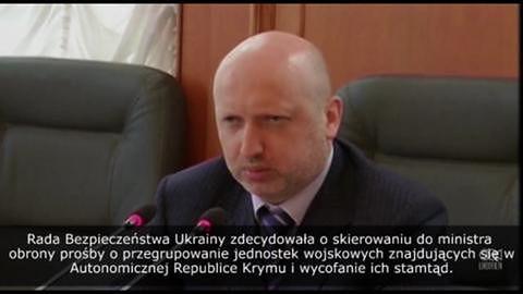 Ukraina ma wycofać swoje wojska z Krymu