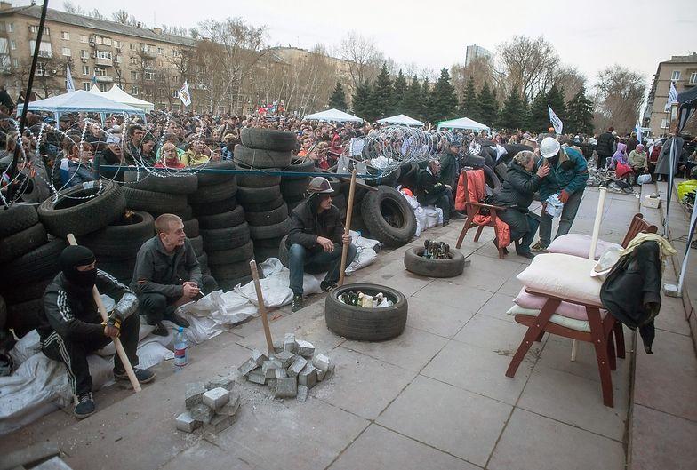 Konflikt na Ukrainie. Separatyści czekają na uderzenie sił MSW