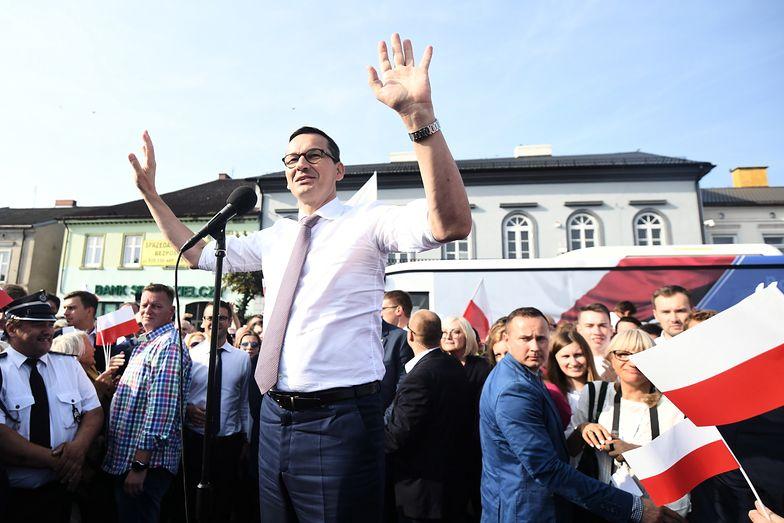 Po konwencji PiS w Warszawie premier pojechał do Łowicza