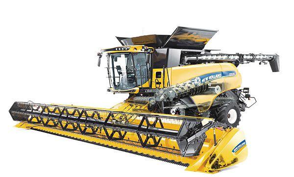 New Holland Agriculture pobił aktualny Światowy Rekord Guinnessa podczas zbiorów pszenicy kombajnem CR10.90