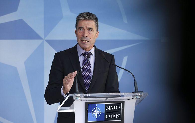 """Rasmussen zapowiada """"szpicę"""" NATO w Europie Wschodniej"""