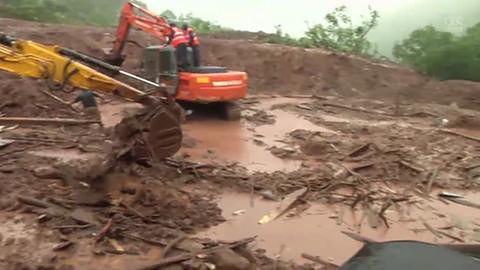 Śmiertelna lawina błotna w Indiach