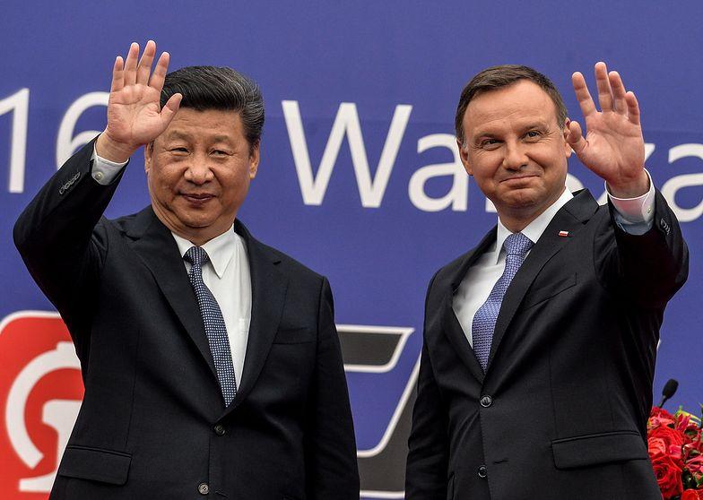 Wizyta prezydenta w Chin w Polsce. Xi Jinping był gościem i prezydenta Andrzeja Dudy.