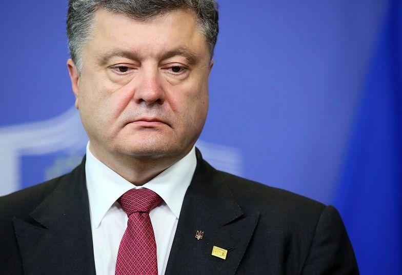 Poroszenko po spotkaniach z Rompuyem i Barroso : będzie reakcja Unii na działania Rosji