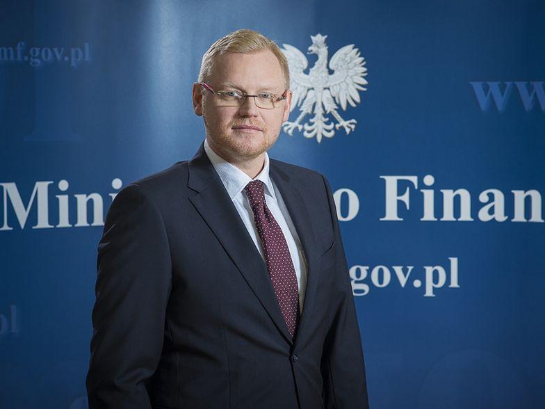 Paweł Gruza, wiceminister finansów