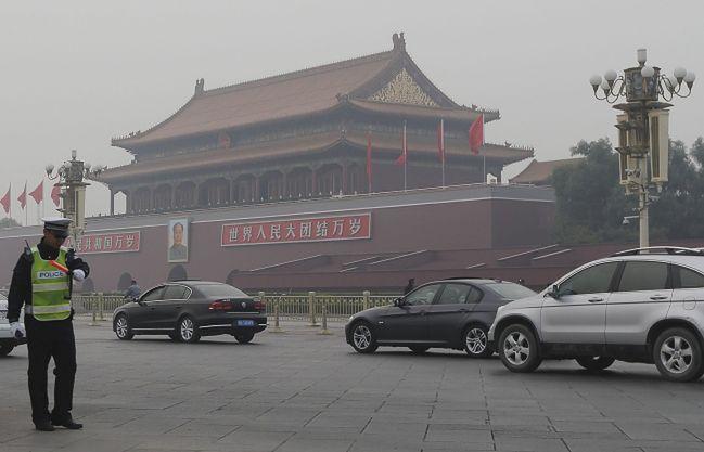 Zatrzymani w związku z wybuchem na Tiananmen