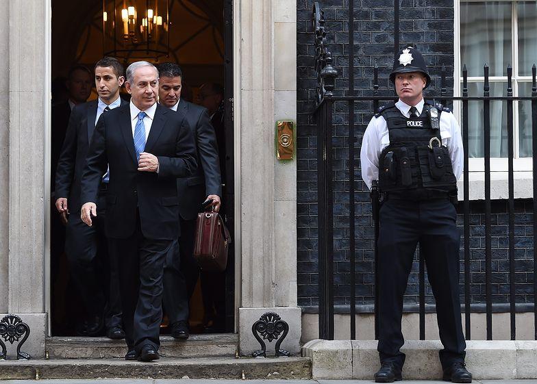 10 września 2015 r. Wizyta Benjamina Netanjahu w Londynie.