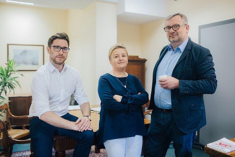 Jakub Domeracki, Małgorzata Mazur, Dariusz Duma - tworzą Value Finance