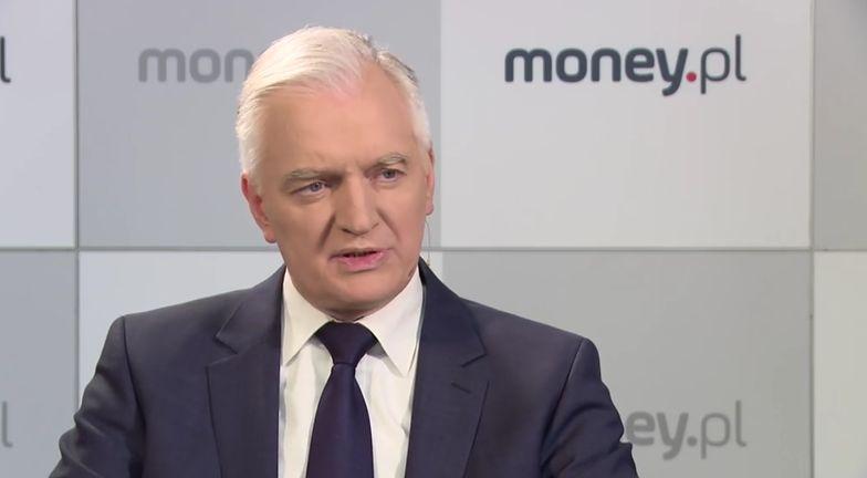 Jarosław Gowin deklaruje, że rząd Zjednoczonej Prawicy wyjaśni wszystkie wątki sprawy w KNF
