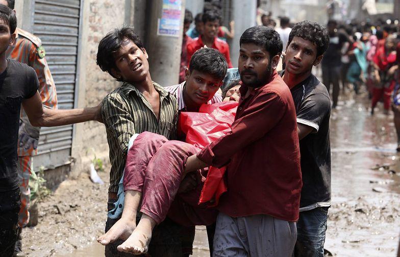 Aresztowano właściciela zawalonego budynku fabryki w Bangladeszu