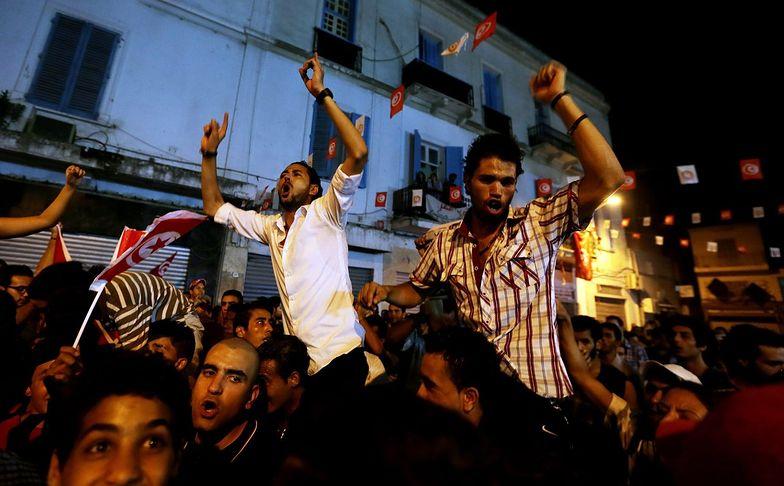 Demonstracje w Tunezji. Policja użyła gazu łzawiącego