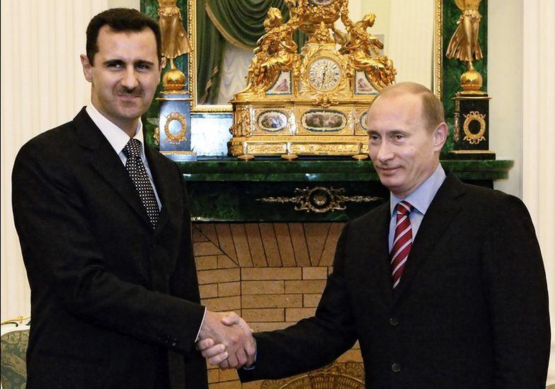 Baszar el-Asad i Władimir Putin