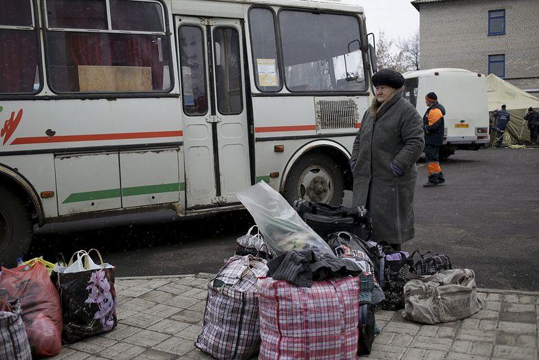 Wojna na Ukrainie zmusiła milion ludzi do porzucenia domów