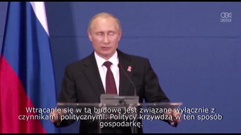 Prezydent Putin spotkał się z premierem Serbii