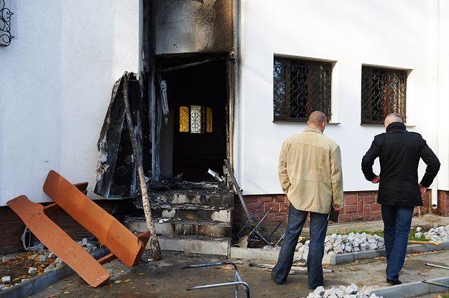 Pożar w gdańskim meczecie. Przyczyną podpalenie