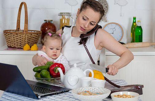 Praca z domu po macierzyńskim