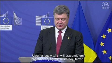 Poroszenko i Barroso o potrzebie zaostrzenia działań przeciwko Rosji