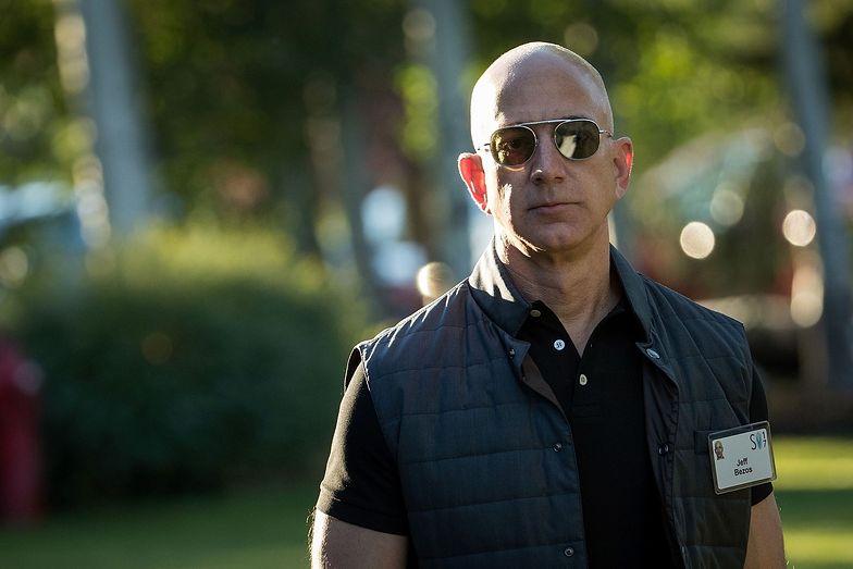 Jeff Bezos stoi na czele Amazona