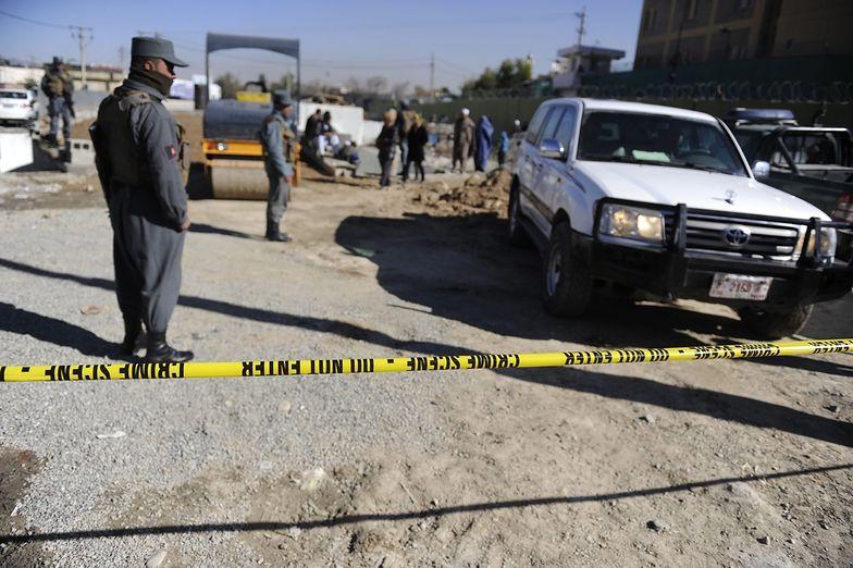 Sytuacja w Afganistanie. Atak kamikaze w najlepiej strzeżonym budynku stolicy