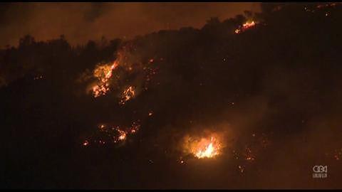 Pożar w San Marcos zmusił do ewakuacji tysiące mieszkańców