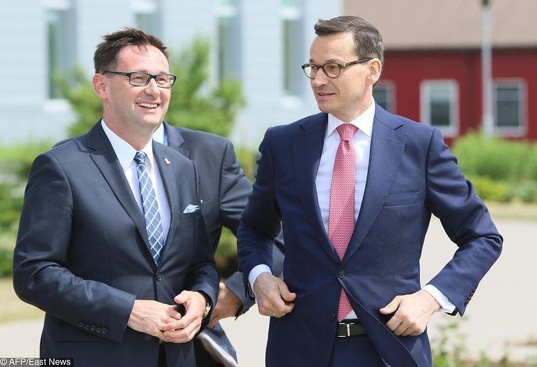 Z prezesa Obajtka (po lewej) premier Morawiecki może być zadowolony po drugim kwartale