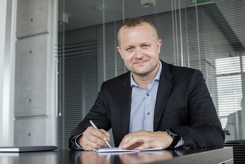 Paweł Jarski, prezes Elemental Holding chciał do końca ub.r. kupić holenderską firmę